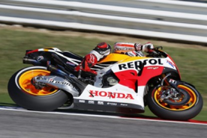 Misano MotoGP: Marquez leads Pedrosa in first practice