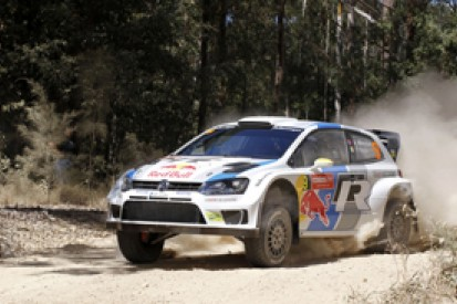 WRC Australia: Andreas Mikkelsen captures lead after opening stages