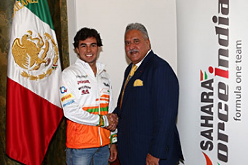 Perez joins Hulkenberg at Force India for 2014 F1 season