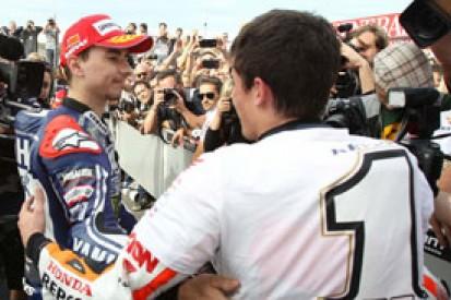Marc Marquez wouldn't veto Honda signing MotoGP rival Jorge Lorenzo