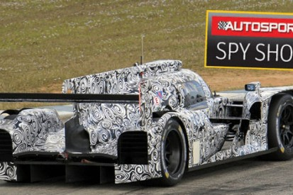 First images of new Audi's 2014 Le Mans R18 testing at Sebring