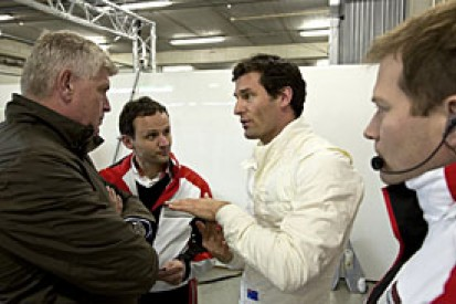 Mark Webber gets early test debut of Porsche LMP1 car