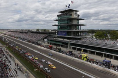 Indianapolis Motor Speedway altered to improve NASCAR action