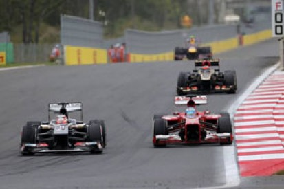 Sauber does not expect late-season revival to hurt it in 2014