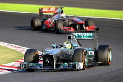 McLaren tips Mercedes as 2014 Formula 1 favourite