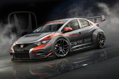 Honda unveils 2014 Civic World Touring Car Championship contender