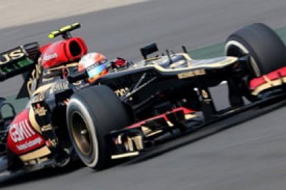 Romain Grosjean: no need for Lotus to lament 2013 F1 run-in