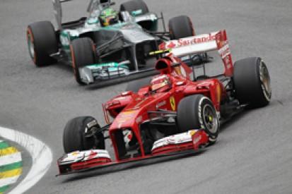 Felipe Massa Brazil GP penalty 'ridiculous' says Ferrari president