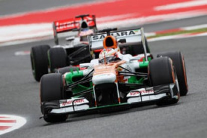 Force India: tyre changes scuppered F1 2013 fight with McLaren