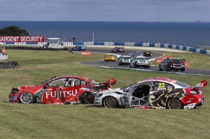 Injured Courtney to skip V8 Supercars finale after Premat crash