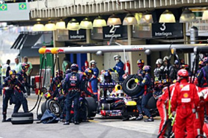 Brazilian GP: Safety car fear caused Red Bull's pitstop drama