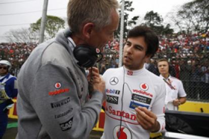 Martin Whitmarsh relieved Sergio Perez set for Force India F1 seat