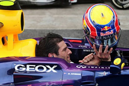 Brazilian GP: Webber proud of helmet-off gesture in final F1 race