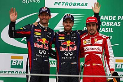 Brazilian GP: Vettel grabs record-equalling ninth straight F1 victory