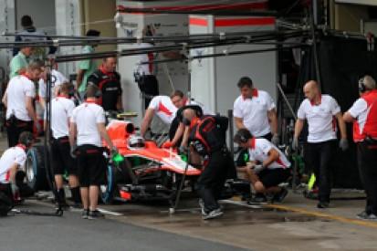 Brazilian GP: Chilton, Gutierrez reprimanded, Marussia fined