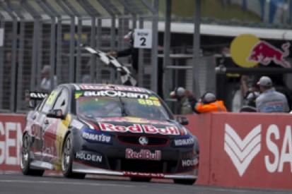 Phillip Island V8s: Craig Lowndes battles back for race two win