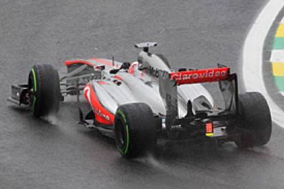 McLaren says 2014 F1 tyre test rain-out will hamper aero teams