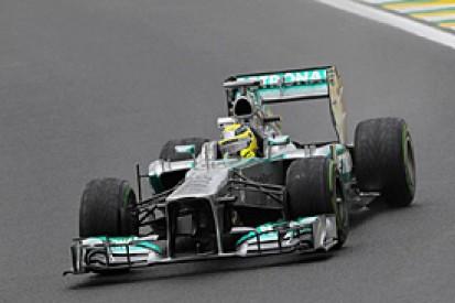 Brazilian GP: Rosberg hoping weekend stays wet