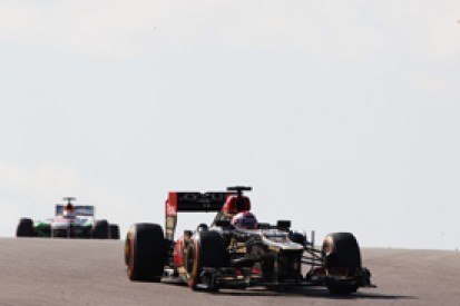 Heikki Kovalainen suspects paper bag caused US GP problem