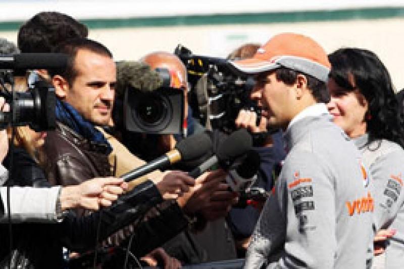 Sergio Perez says 2014 F1 prospects already improving
