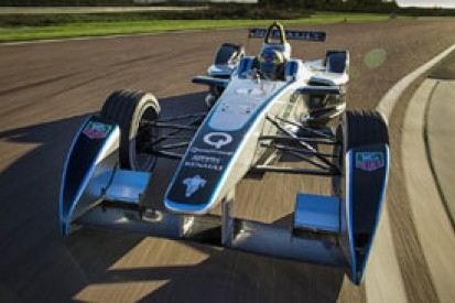 Formula E electric single-seater completes first track test
