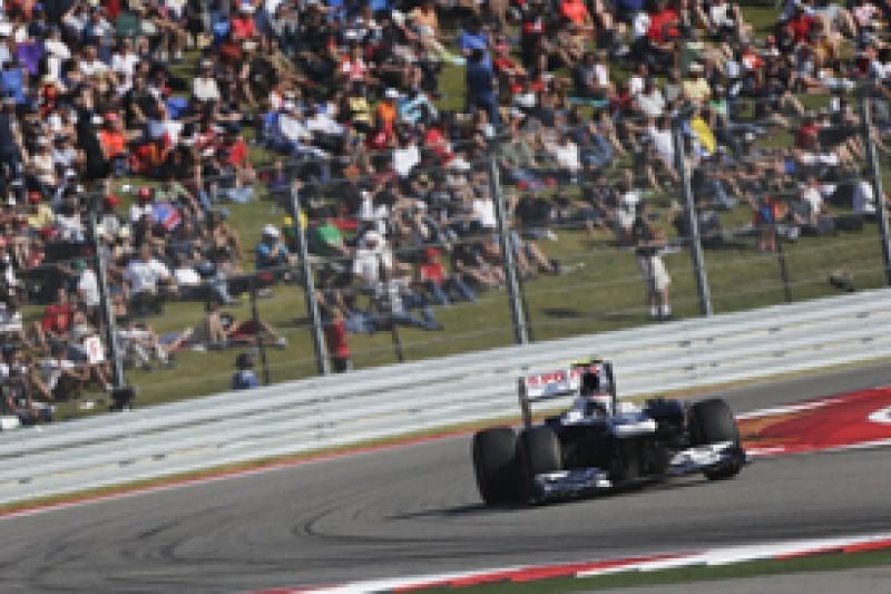 Williams's Austin form buoys Valtteri Bottas for 2014