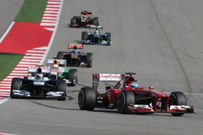 Fernando Alonso: second in F1 2013 too ambitious for Ferrari
