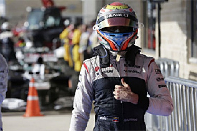 Maldonado believes his strong criticism of Williams was wrong