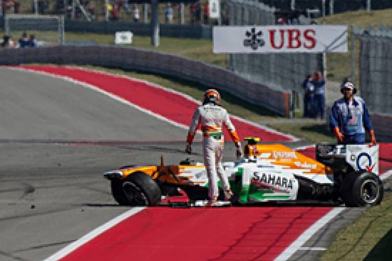 US GP: Sutil says Maldonado on different planet after crash