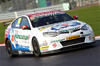 Triple Eight BTCC squad tests club racer Chris Smiley