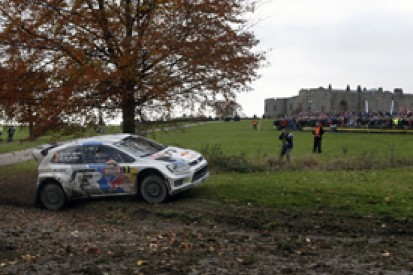 WRC Rally GB: Sebastien Ogier on brink of win in Wales