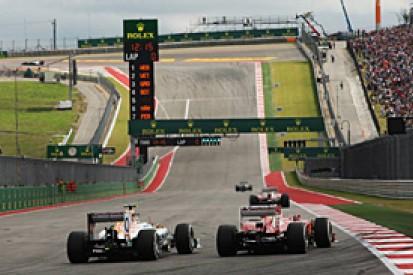 US GP: Final grid line-up