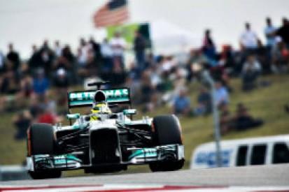 US GP: Nico Rosberg admits 'underestimating' qualifying conditions