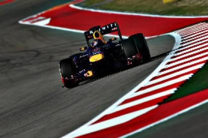 US GP: Sebastian Vettel leads as Nico Hulkenberg stars in practice