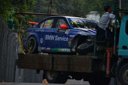 Macau WTCC: Fredy Barth ruled out after qualifying crash