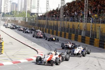 Macau F3: Alex Lynn storms to victory in qualifying race