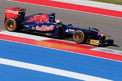 US GP: Daniil Kvyat says interrupted F1 session not a problem