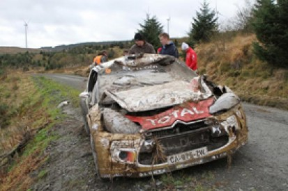 WRC GB: Hirvonen's co-driver Lehtinen says crash his fault