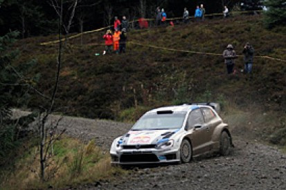 Rally GB: Sebastian Ogier in control after sweep of stage wins