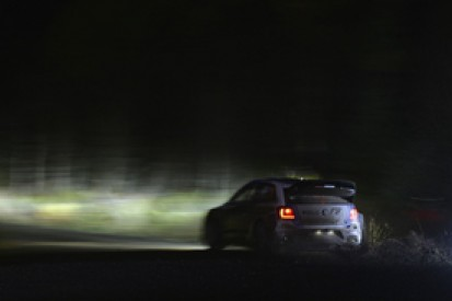Rally GB: Sebastien Ogier holds narrow lead over Thierry Neuville
