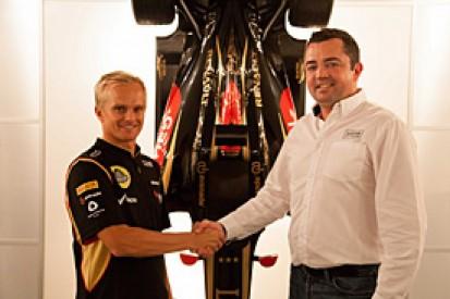 Lotus confirms Heikki Kovalainen to replace Kimi Raikkonen