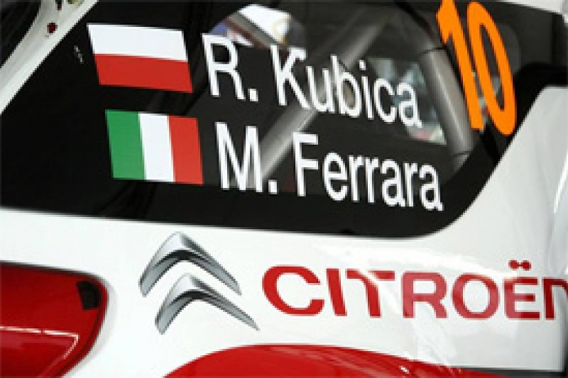 Kubica admits co-driver change will hurt him during Rally GB
