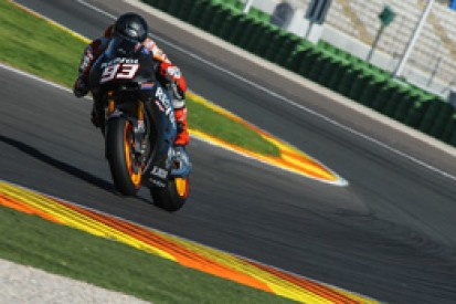 Marc Marquez sets blistering pace in Valencia MotoGP test