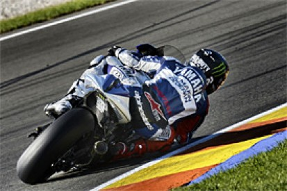Jorge Lorenzo on top in Valencia MotoGP test