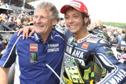 Valentino Rossi and Jerry Burgess to part company after 2013