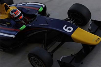 Patric Niederhauser ends final GP3 test of 2013 on top