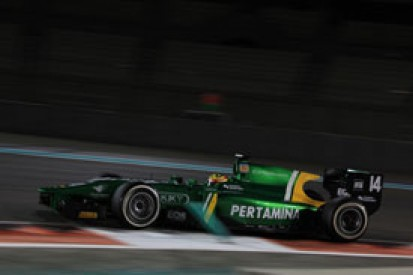 Rio Haryanto sets pace for Caterham on day two of GP2 testing