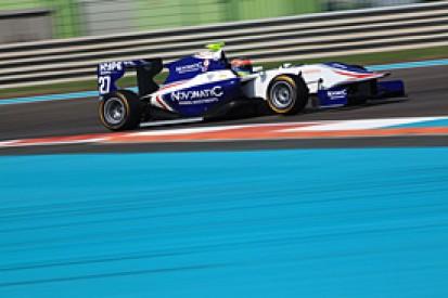 Dean Stoneman tops Yas Marina GP3 test