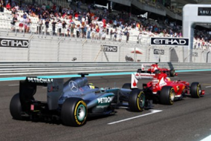 Ferrari certain battle with Mercedes for second in F1 2013 not lost