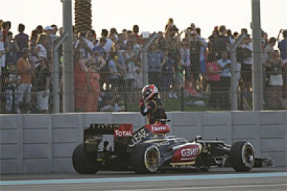 Lotus stands by Raikkonen's grid start decision in Abu Dhabi GP